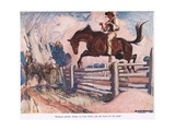 Without Saddle, Bridle or Halter Giclee Print by George Washington Lambert