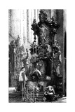 Drawing of an Altar, 1885 Giclee Print by Adolph Friedrich Erdmann von Menzel