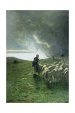 After Storm Giclee Print by Giovanni Segantini