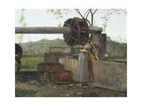 The Pumping Machine Reproduction procédé giclée par Silvestro Lega
