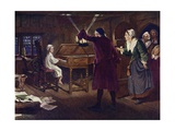 The Child Handel Giclee Print by Margaret Isabel Dicksee