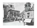 Italy, Capri, Piazzetta Giclee Print