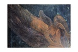 The Night Giclee Print by Gaetano Previati