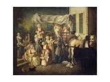 Arrival of Nurses Giclee Print by Etienne Jeaurat