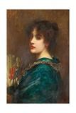Sylvia Giclee Print by Sir Samuel Luke Fildes