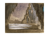 Set Design for 'Rusalka' Giclee Print by Franz Dvorak