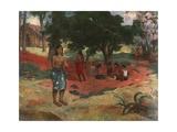 Parau Parau Giclee Print by Paul Gauguin