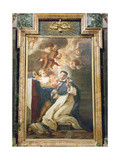 Saint Louis Bertrand in Ecstasy, 1673 Giclee Print by Giovanni Battista Gaulli