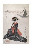 Flowers of Four Seasons Giclee Print by Utagawa Toyokuni