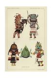 Tehabi, Tunwup Taamu, Kerwan and Mana Giclee Print