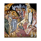 The Raising of Lazarus, Cretan School Giclee Print