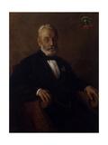 Portrait of Doctor Pietro Umberto Giclee Print by Demetrio Cosola