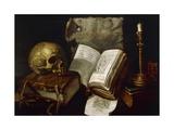 Vanity, 1641 Giclee Print by Damien Lhomme