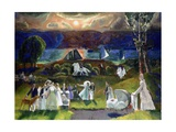 Summer Fantasy, 1924 Giclee Print by George Wesley Bellows
