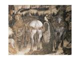 St George and Princess Giclée-tryk af Antonio Pisanello