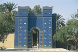 Reconstruction of the Ishtar Gate Photographic Print
