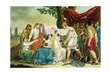 Coriolanus Giclee Print by Jacques Grasset de Saint-Sauveur