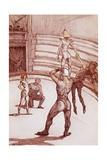 Acrobats Lámina giclée por Henri de Toulouse-Lautrec