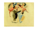 Vaudeville, 1916 Giclee-trykk av Charles Demuth