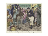 Illustration for the Pickwick Papers Giclee Print by Charles Edmund Brock