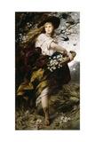 Flora, 1883 Giclee Print by Ferdinand Keller