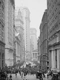 Broad Street, New York City, C.1905 Photographic Print