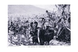 The Battle of Marathon 490 BC Giclee Print by Georges Marie Rochegrosse
