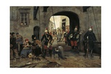 Poor in Paris, 1886 Giclee Print by Marius Roy