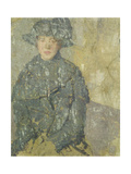 Study of a Young Girl with a Hat, 1923 Giclee Print by Gwen John