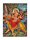 Durga Lámina giclée