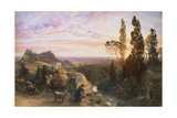 Dream in Apennines, Circa 1864 Giclee Print by Samuel Palmer