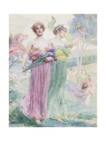Floreal, C.1895-97 Giclee Print by Henry Siddons Mowbray