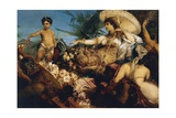 Cleopatra on Nile, Circa 1875 Giclee Print by Hans Makart