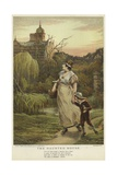 The Haunted House Giclee Print by Edward Frederick Brewtnall