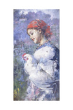 The Farmer's Daughter Giclee Print by Vicenzo Irolli