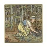 Gefunden Giclee Print by Walter Crane