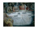 The Marriage at Cana, 1552 - 1553 Giclée-tryk af Francesco De Rossi Salviati Cecchino
