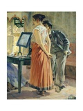 Morning Toilette, 1898 Giclee Print by Telemaco Signorini