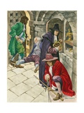 Stealing the Crown Jewels Giclee Print by Peter Jackson