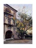 Castel in Issogne Giclee Print by Demetrio Cosola