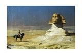 General Bonaparte in Egypt Giclée-tryk af Jean Leon Gerome