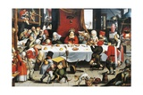 Burlesque Feast, by Jan Mandyn Giclee Print