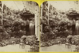 Fernery and Waterfall at Brighton Aquarium Photographic Print
