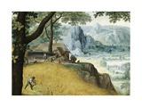 Landscape in Summer Giclée-Druck von Lucas van Valkenborch