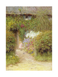 A Cottage at Redlynch Giclee Print by Helen Allingham
