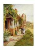 Broadway - the Puppy Giclee Print by Arthur Claude Strachan