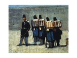 French Soldiers in '59, 1859 Giclee Print by Giovanni Fattori