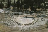 Theatre of Dionysos, Acropolis Photographic Print