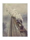 King Steam Giclee Print