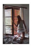 Early Morning: Villa, Mallorca, 2006 Giclee Print by Gillian Furlong